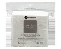 Image du produit Personnelle Cosmétiques - Tampons démaquillants premium - Petit carré, 165 unités