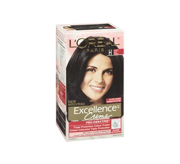 Image 2 du produit L'Oréal Paris - Excellence Crème coloration permanente H - Noir naturel