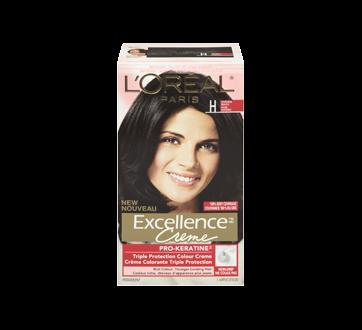 Image 3 du produit L'Oréal Paris - Excellence Crème coloration permanente H - Noir naturel