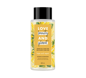Hope and Repair shampooing, 400 ml, noix de coco et ylang-ylang