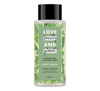 Radical Refresher shampooing, 400 ml, huile de théier et vétiver