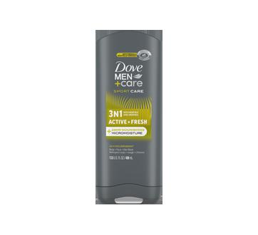 SportCare Active+Fresh gel douche corps & visage, 400 ml