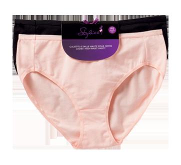 Image 2 du produit Styliss - Culotte à taille haute pour femme, 2 unités, petit
