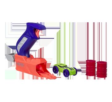 Image 2 du produit Nerf - Nitro Throttleshot Blitz, 1 unité, orange et bleu