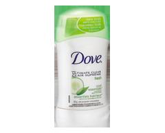 Image du produit Dove - Go Fresh antisudorifique, 45 g, essentiels fraîcheur