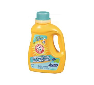 Détergent à lessive liquide, 2,03 L, peau sensible