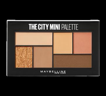 City Mini Palette ombres à paupières, 1 unité, Cocoa City