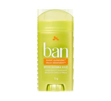 Déodorant antisudorifique en bâton invisible, 73 g