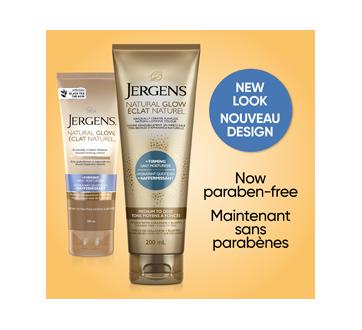 Image 3 du produit Jergens - Éclat Naturel + Raffermissant hydratant quotidien tons moyens à bronzés, 200 ml