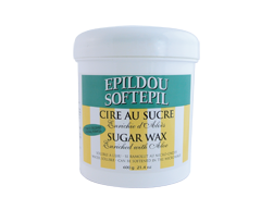 Image du produit Epildou - Cire au sucre enrichie d'aloès, 600 g