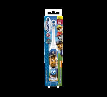 Spinbrush brosse à dents à piles pour enfants Pat Patrouille, 1 unité, souple