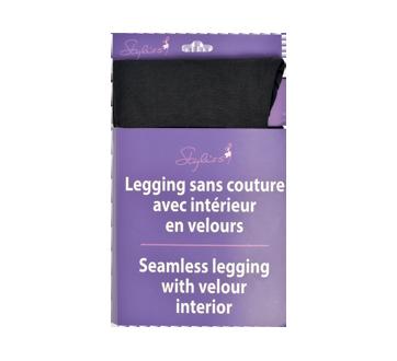 Legging sans couture avec intérieur en velours, 1 unité, grand-très grand