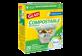 Vignette du produit Glad - Compostable OdorShield sacs compostables à nœud facile, 20 unités, petits, parfum de citron