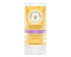 Image du produit Burt's Bees - Bébé lait nourrissant calmant, 170 g, Arômes de lavande et de vanille