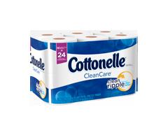 Image du produit Cottonelle - Clean Care papier de toilette, 12 rouleaux