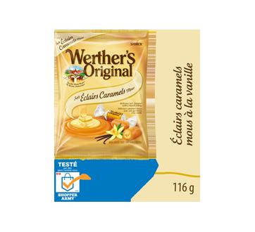 Éclairs caramel mou à la vanille, 116 g