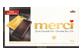 Vignette du produit Merci - Chocolat noir 72 %, 100 g