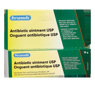 Image du produit Personnelle - Onguent antibiotique USP, 15 g