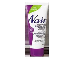 Image du produit Nair - Crème dépilatoire pour forte pilosité, 200 ml, Huile de pépins de raisin et mauve adoucissante