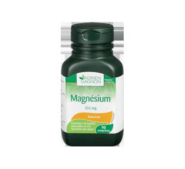 Image 3 du produit Adrien Gagnon - Magnésium 252 mg , 90 unités