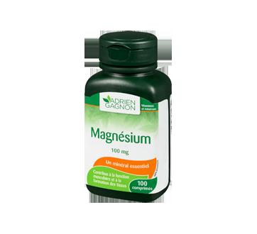 Image 1 du produit Adrien Gagnon - Magnésium 100 mg, 100 unités