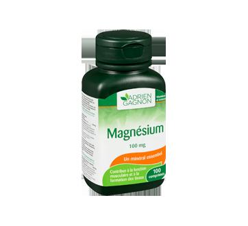 Image 2 du produit Adrien Gagnon - Magnésium 100 mg, 100 unités