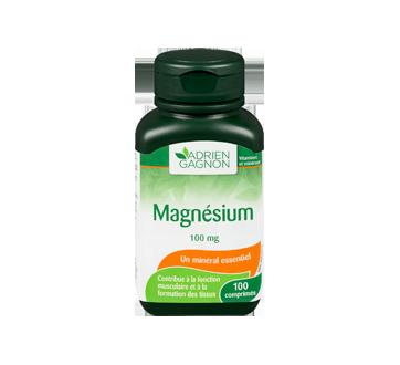 Image 3 du produit Adrien Gagnon - Magnésium 100 mg, 100 unités
