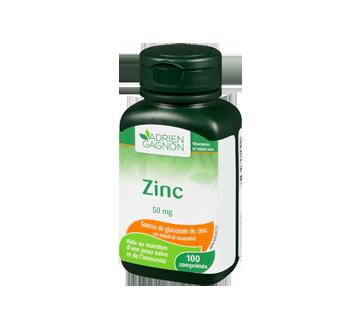Image 1 du produit Adrien Gagnon - Zinc 50 mg, 100 unités