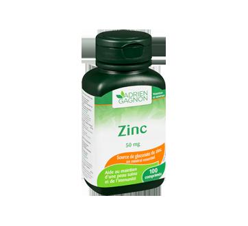 Image 2 du produit Adrien Gagnon - Zinc 50 mg, 100 unités