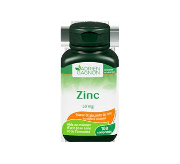 Image 3 du produit Adrien Gagnon - Zinc 50 mg, 100 unités