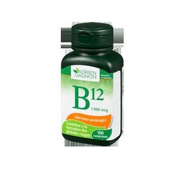 Image 1 du produit Adrien Gagnon - Vitamine B12 1000 mcg, 100 unités