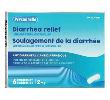 Image du produit Personnelle - Soulagement de la diarrhée, 6 unités