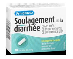 Image du produit Personnelle - Soulagement de la diarrhée, 18 capsules