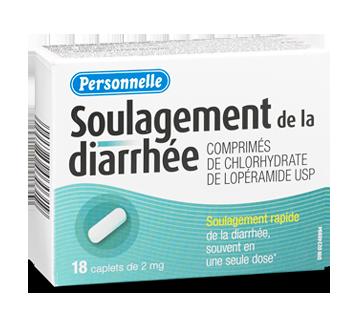 Image du produit Personnelle - Soulagement de la diarrhée, 18 unités