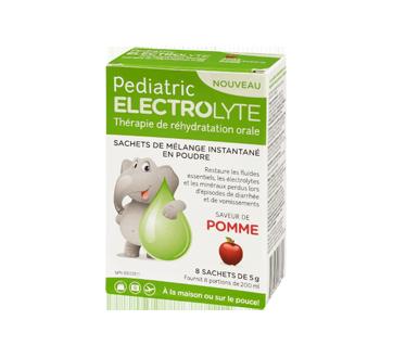 Image 1 du produit Pediatric Electrolyte - Pediatric Electrolyte poudre, 8 X 5 g, pomme