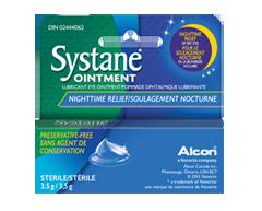 Image du produit Systane - Systane Ointment pommade ophtalmique lubrifiante, 3,5 g