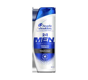 Men Advanced Series Shampoing au charbon 2en1, 380 ml
