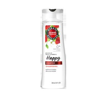 ScentEssences Happy shampoing avec essences de jasmin et de fraises succulentes, 300 ml, essences de jasmin et de fraises succulentes
