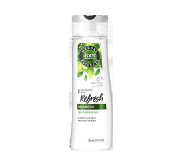 Scent Essences Refresh shampooing, 300 ml, essences de feuilles vertes et de menthe