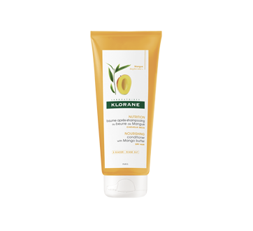 Baume après-shampooing au beurre de mangue pour cheveux secs, 200 ml
