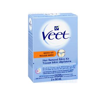 Image 2 du produit Veet - Trousse dépilatoire bikini, peau sensible, 50 ml
