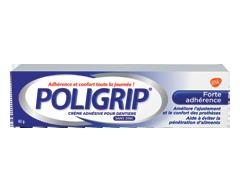 Image du produit Poligrip - Crème adhésive pour dentier forte adhérence, 40 g