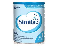 Image du produit Similac - Similac enrichi de fer, en poudre, 850 g