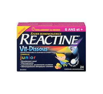 Image 2 du produit Reactine - Reactine Vit-Dissous formule junior, 24 unités
