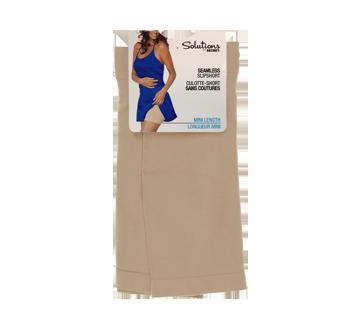 Mini caleçon sans couture pour femme, 1 unité, grand/très grand, chair