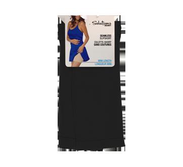 Mini caleçon sans couture pour femme, 1 unité, petit/moyen, noir