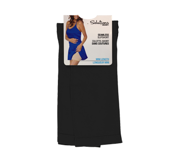 Mini caleçon sans couture pour femme, 1 unité, grand/très grand, noir