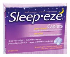 Image du produit Sleep-eze - Sleep-eze extra-fort, 20 unités