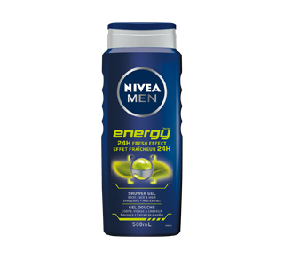 Gel douche avec effet fraîcheur 24 h, 500 ml, Energy