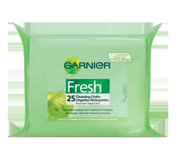 Image 2 du produit Garnier - Fresh - Lingette nettoyante, 25 unités